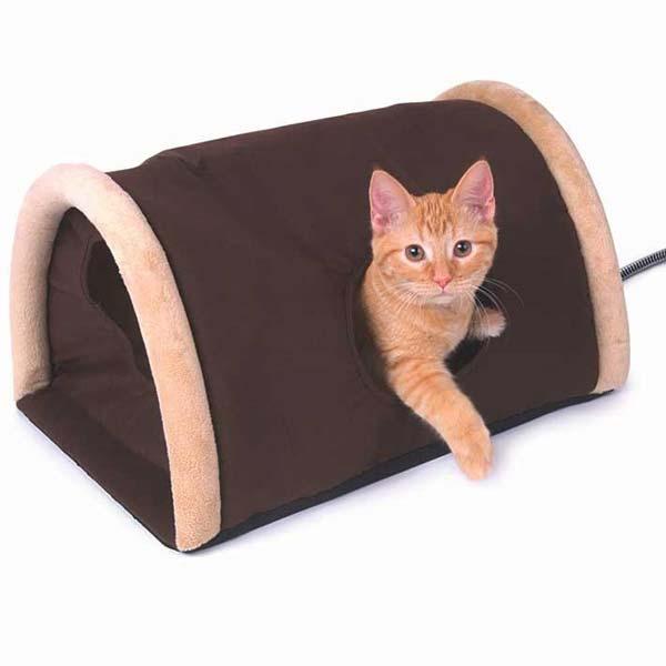 Домик для кошек с подогревом своими руками 19